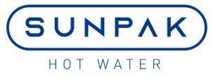sunpak white logo